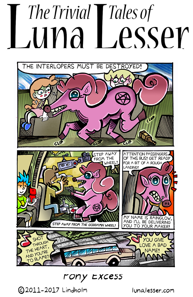 32. Pony Excess Page 3