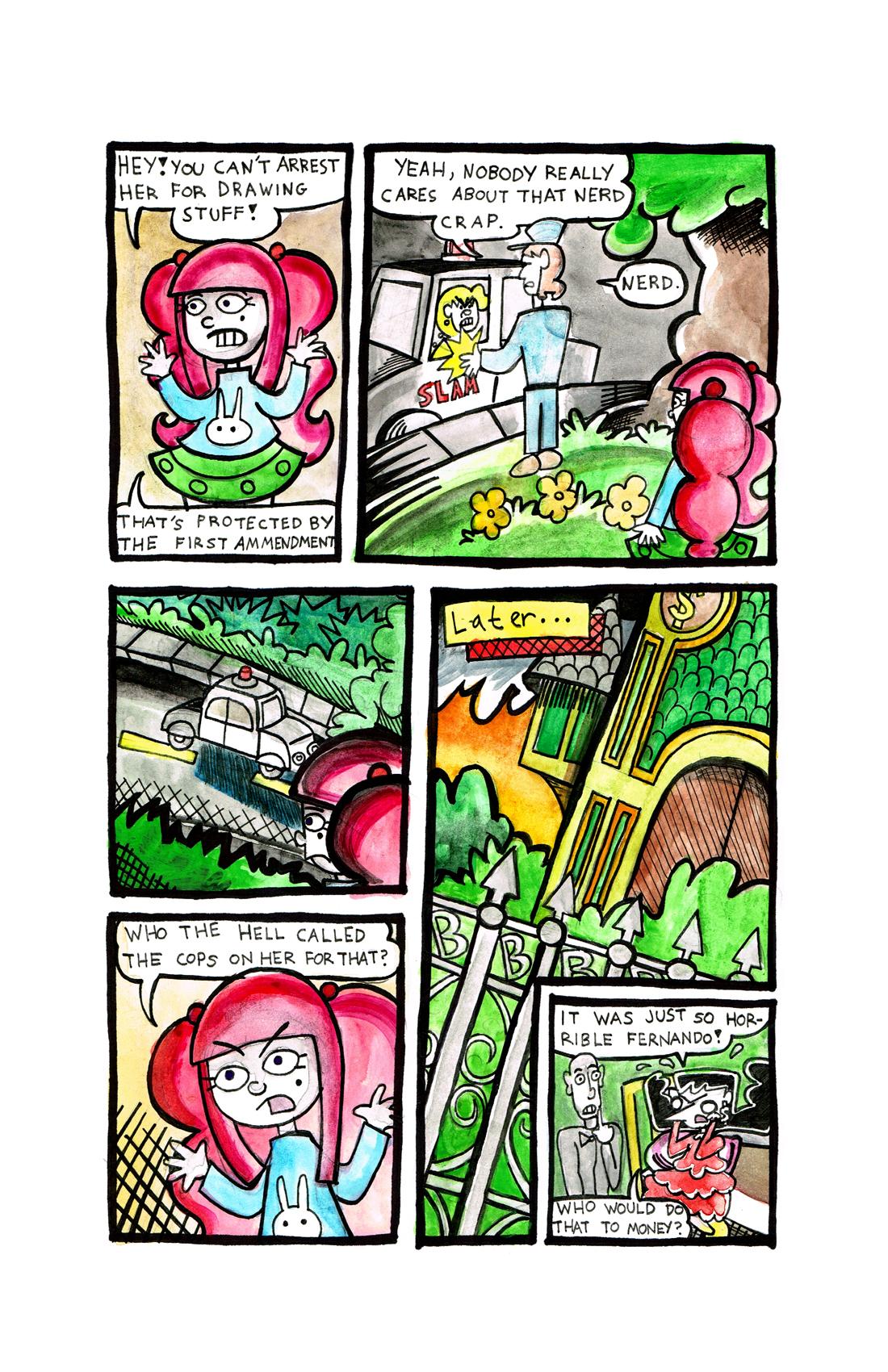 55. Comic Cops Page 3