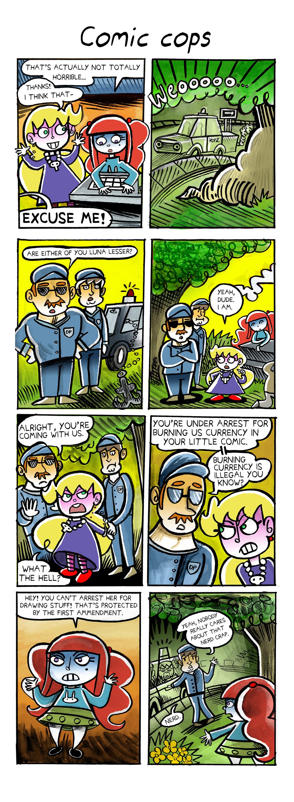 54. Comic-Cops Page 2
