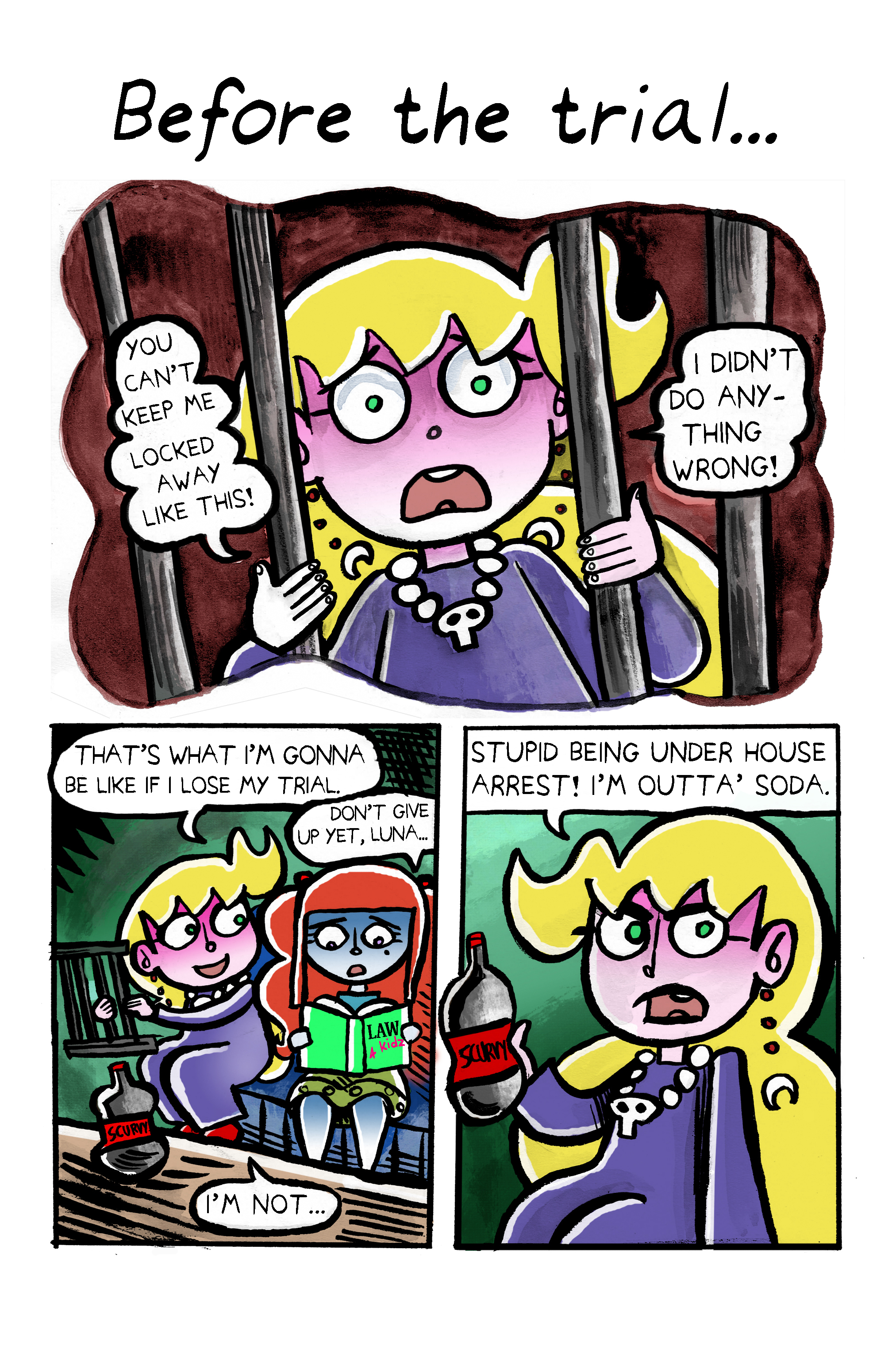 57. Luna Goes To Jail Page 1