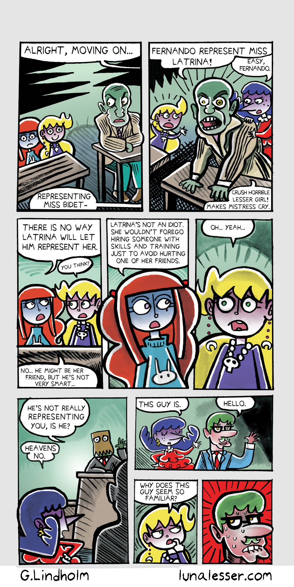 67. Luna Goes To Jail Page 11