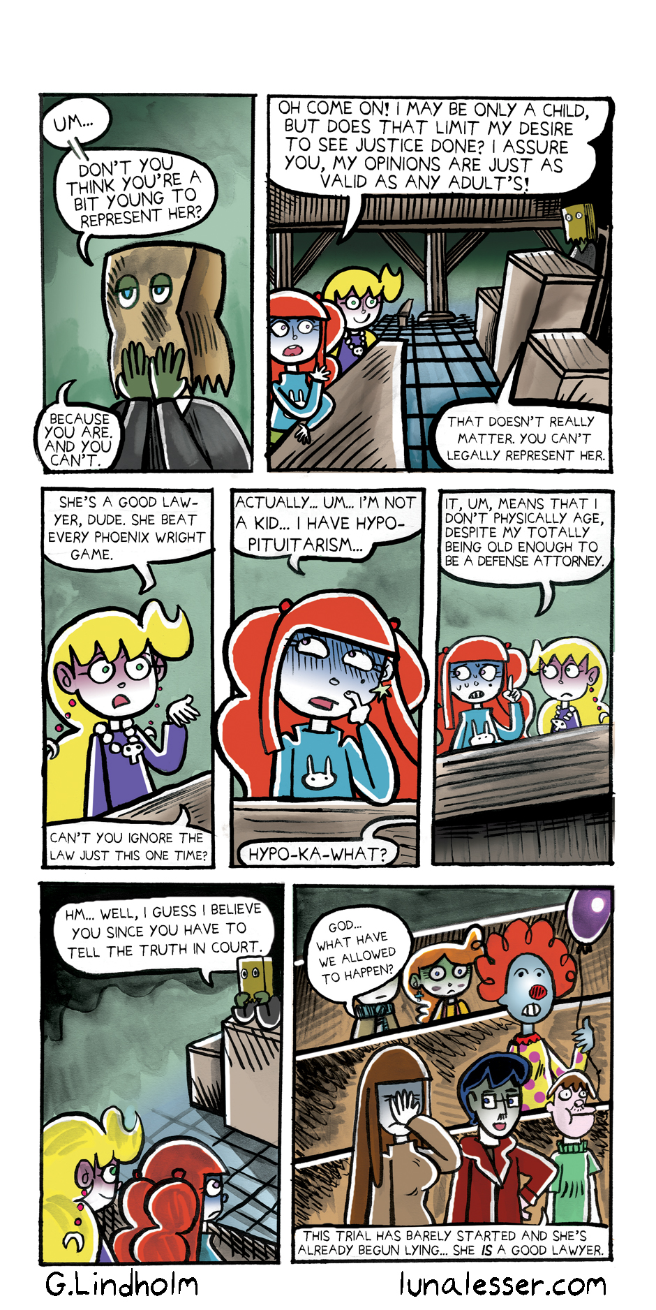 65. Luna Goes To Jail Page 9