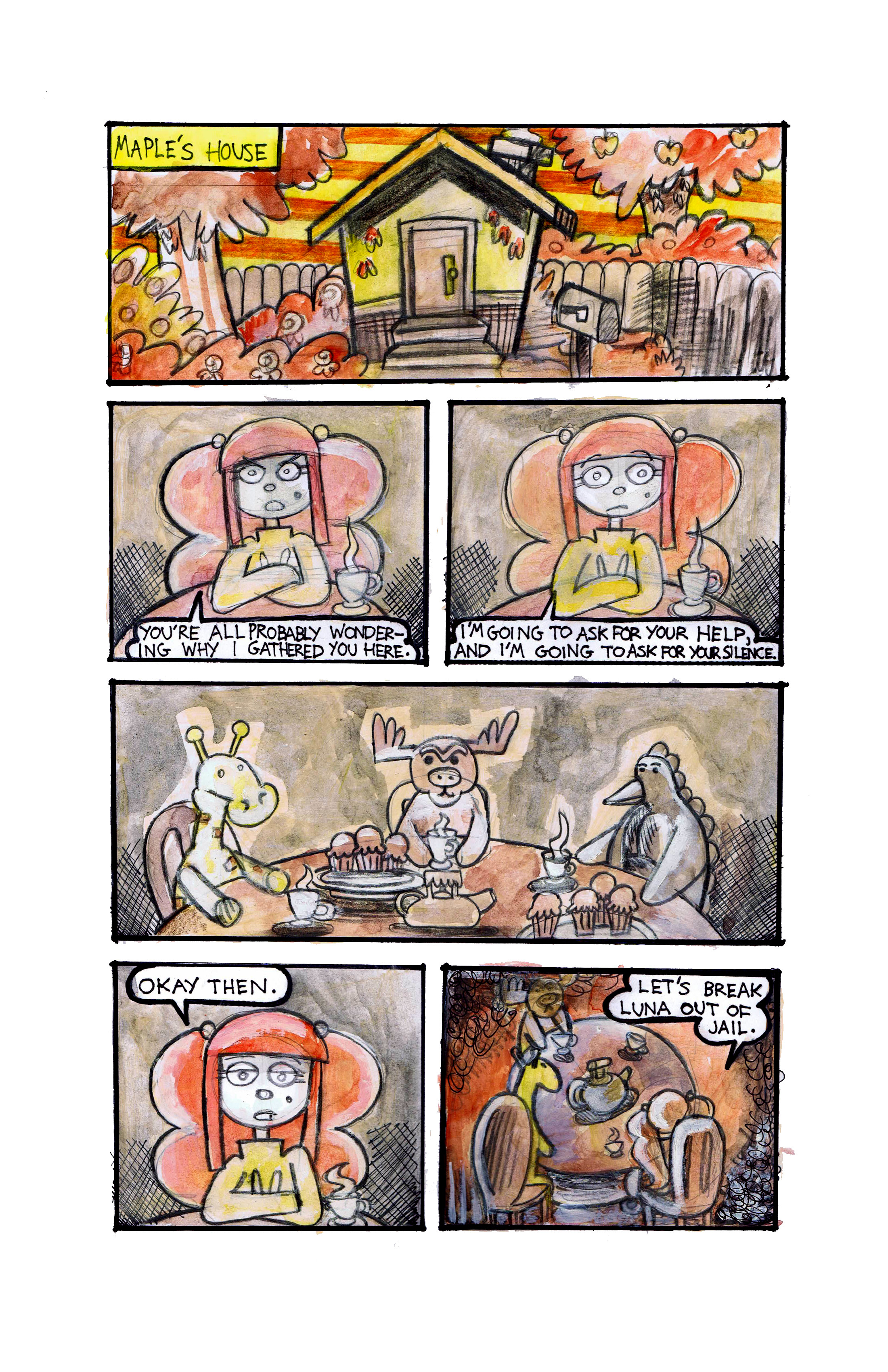 86. How I Spent My Slammer Vacation Page 13