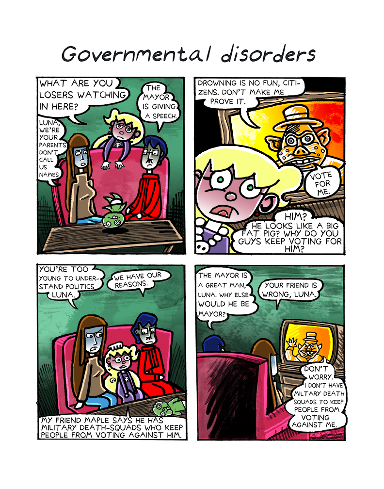 1.4 Governmental Disorders
