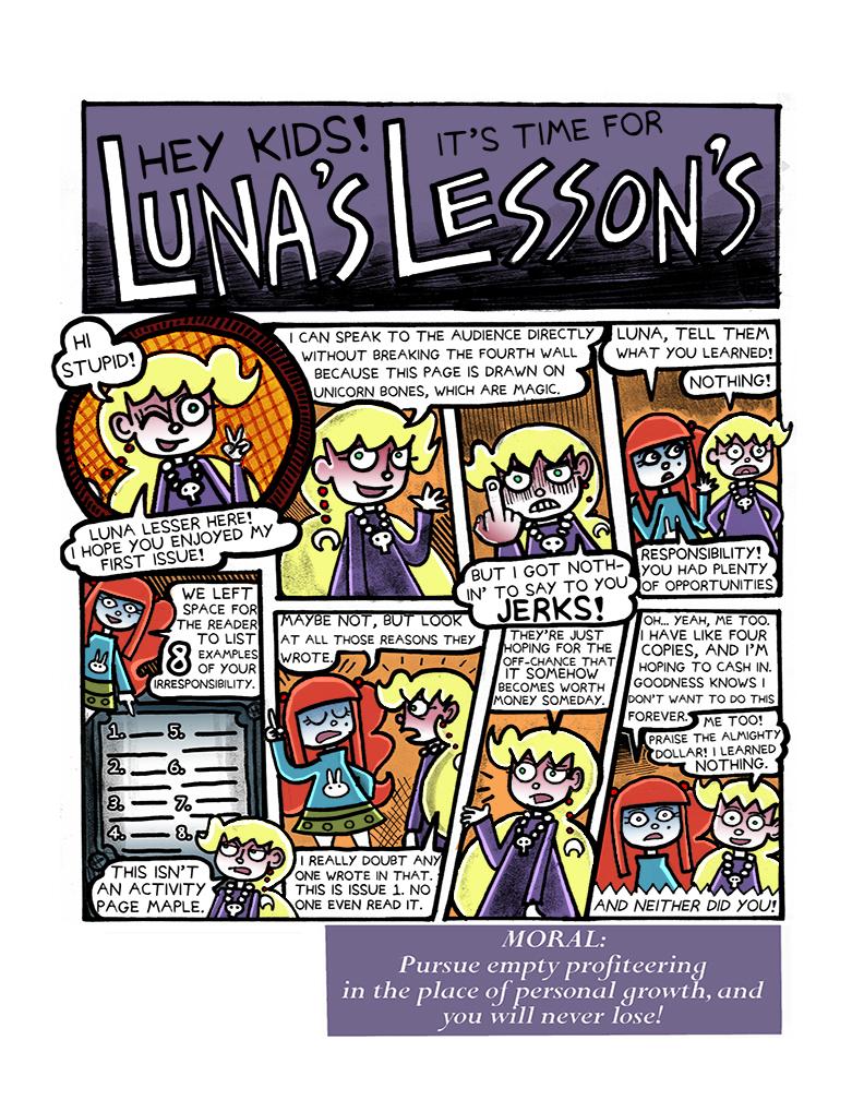 1.33 Luna's Lessons