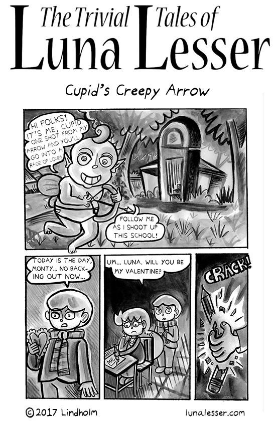 Cupid's Creepy Arrow (1/6)