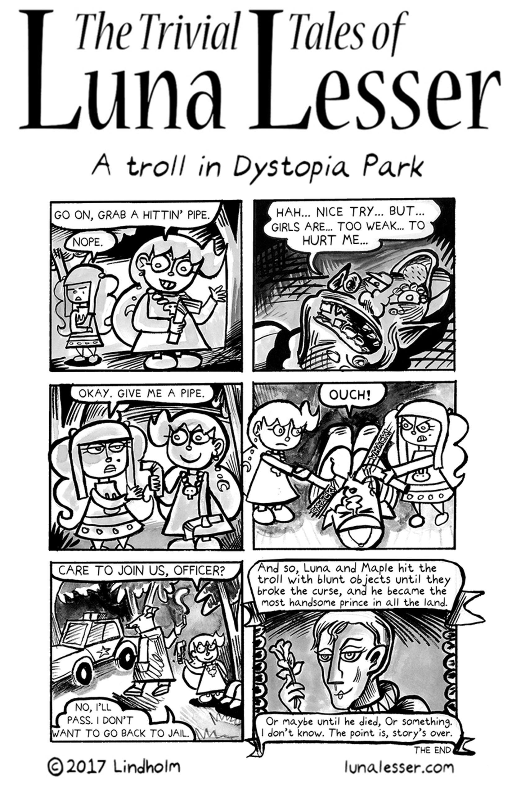 A troll in Dystopia Park (8/8)